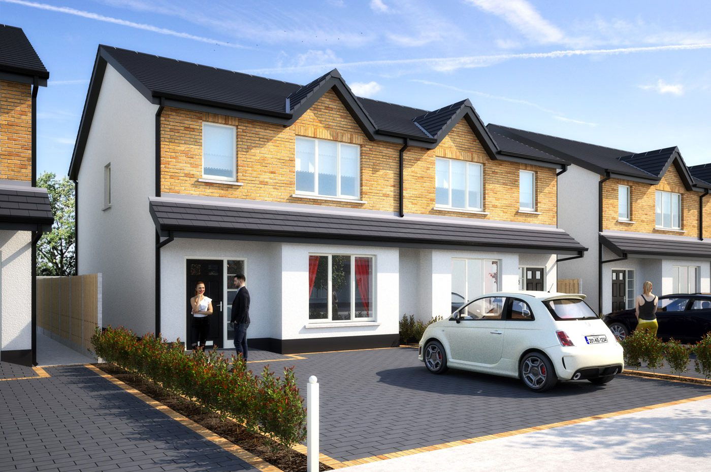 New 3 bedroom semi-detached Derrinturn Co. Kildare