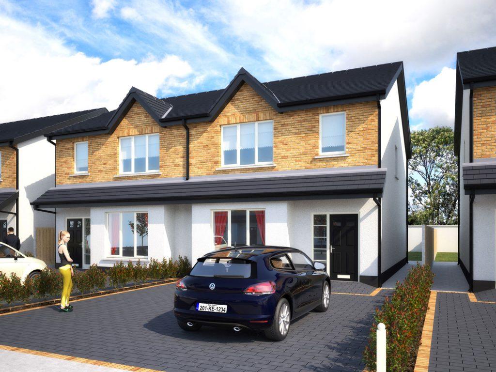 New houses in Derrinturn, Cluain Dara
