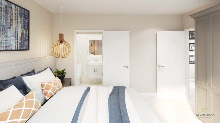Master bedroom en suite, Cluain Dara, Derrinturn