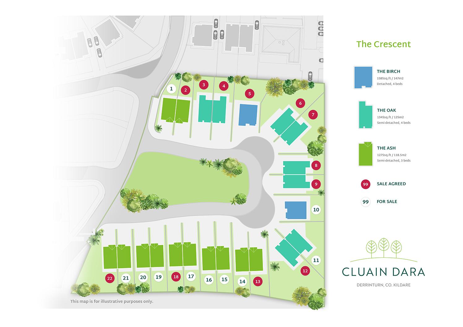 Cluain Dara Site Plan